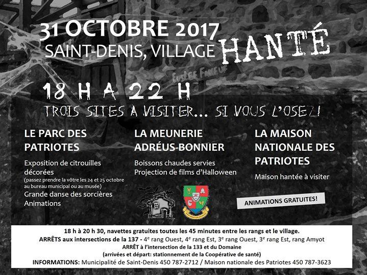 maison hantee 31 octobre 2017